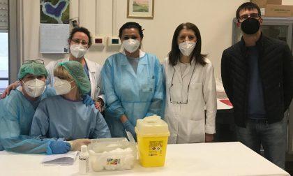 Anche all'ospedale di Suzzara avviata la campagna vaccinale anti Covid per gli over 80