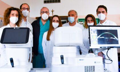 Patologie dell'occhio, al Poma nuovo strumento all'avanguardia per studiarle