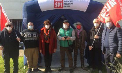 Il sindacato dei pensionati dona una stanza degli abbracci alla Rsa di Suzzara