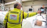 Emergenza Covid: parte dalla Lombardia il primo treno sanitario