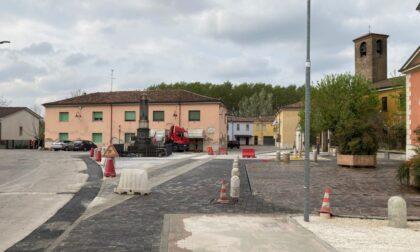 Quasi pronta la nuova piazza Diaz a Formigosa