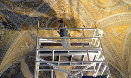 """Palazzo Ducale: le foto della """"Camera degli Sposi"""" che si fa bella"""