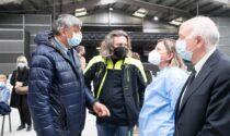 Assessore Foroni in visita agli hub di Mantova e Castiglione delle Stiviere