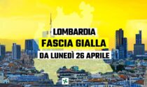 Lombardia zona gialla da lunedì, la conferma di Fontana