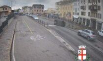 Ubriaco perde il controllo dell'auto, abbatte il semaforo e cappotta: il video dello schianto