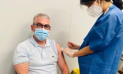 """Il sindaco Mattia Palazzi si vaccina: """"E' arrivato il mio turno"""""""