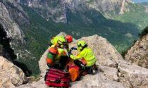 Alpinista di Castiglione delle Stiviere precipita in montagna, è in gravi condizioni