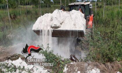 È successo ancora, a Roncoferraro una società agricola interrava rifiuti tossici