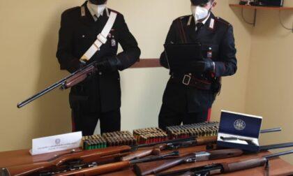 Controlli sulla detenzione di armi da fuoco, 3 mantovani denunciati