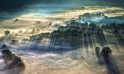 La foto più bella del mondo di fenomeni meteo è stata scattata in Lombardia